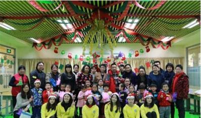 智慧家圣诞节校区活动